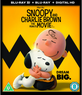 Snoopy And Charlie Brown - The Peanuts Movie 3D+2D Blu-Ray