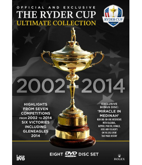 The Ryder Cup Official Ultimate Collection 2002 To 2014 DVD