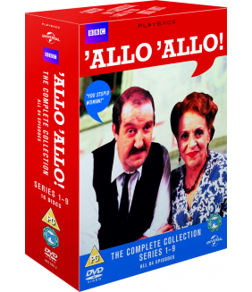 Allo Allo Series 1 to 9 Complete Collection DVD