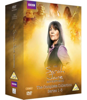 The Sarah Jane Adventures Series 1 to 5 Complete Collection DVD