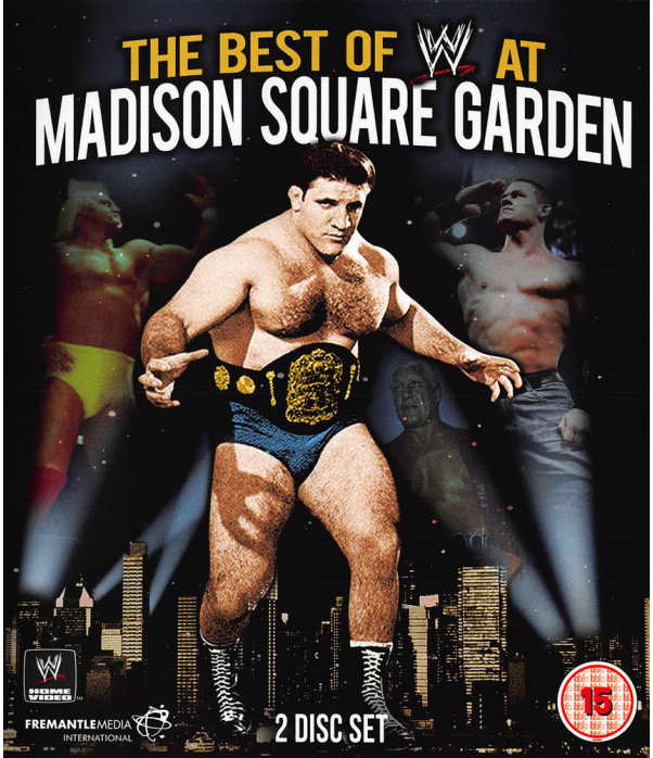 WWE - The Best Of WWE At Madison Square Garden Blu-Ray