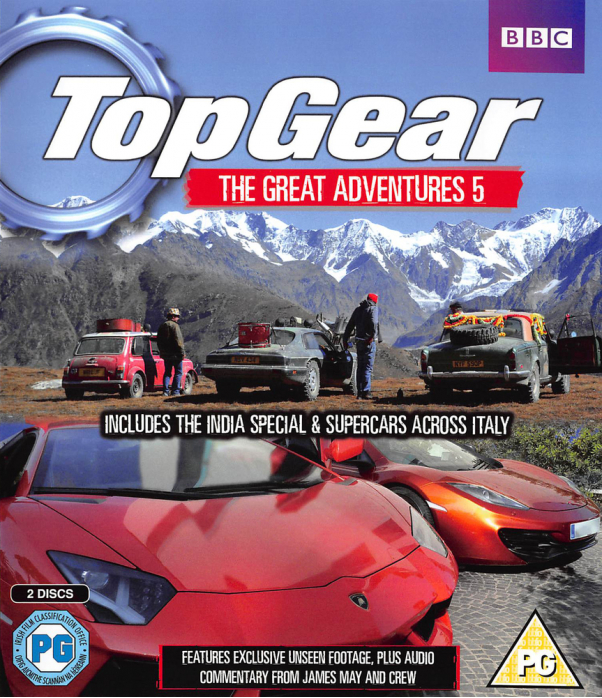 Top Gear - The Great Adventures 5 Blu-Ray