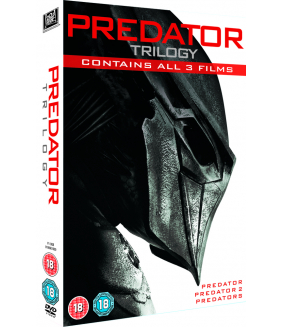 Predator Trilogy - Predator / Predator 2 / Predators DVD