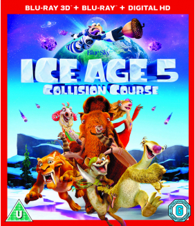 Ice Age 5 - Collision Course 3D+2D Blu-Ray