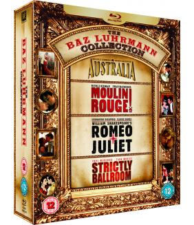 Baz Luhrmann - Australia / Moulin Rouge! / Romeo And Juliet / Strictly Ballroom Blu-Ray