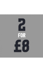 2 for £8