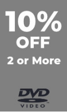 DVD - Extra 10% Off 2 or More