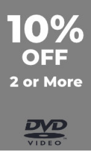10% Off 2 or More DVD's