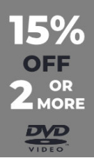 DVD - Extra 15% Off 2 or More