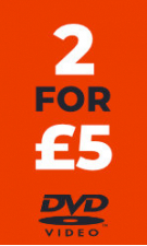DVD - 2 for £5