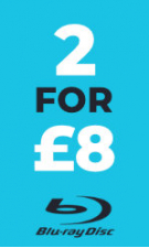 Blu-Ray B-Movies 2 for £8