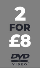 DVD - 2 for £8