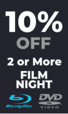 Film Night - Extra 10% Off 2 or More