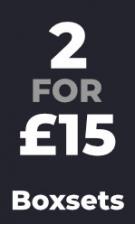 Boxsets - 2 for £15