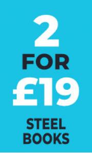 Blu-Ray 2 for £19 - Steelbooks
