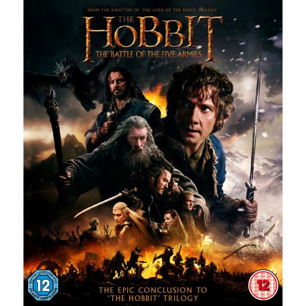 The Hobbit - The Battle Of The Five Armies Blu-Ray