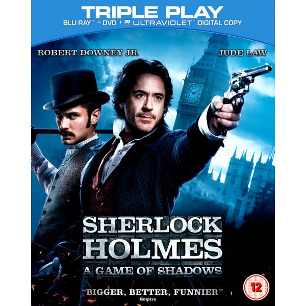 Sherlock Holmes - A Game Of Shadows Blu-Ray