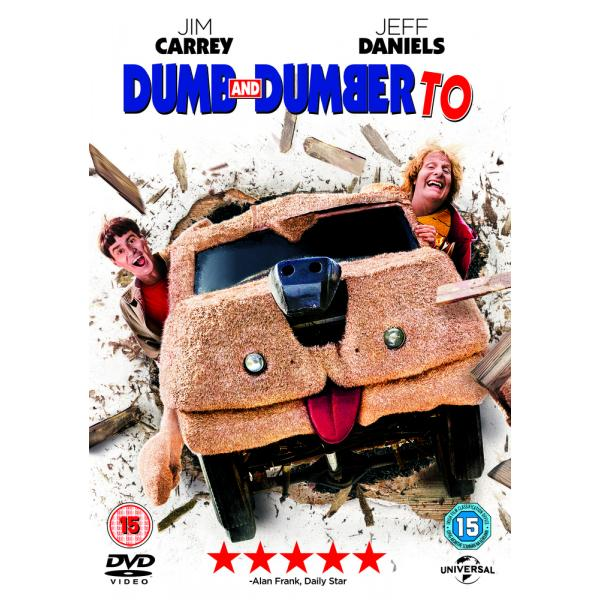 Dumb And Dumber To DVD