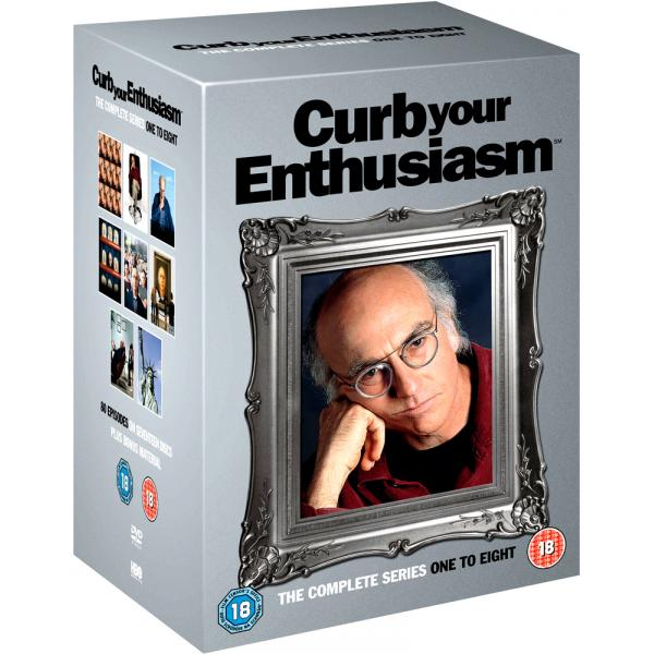 Curb Your Enthusiasm Seasons 1 to 8 DVD