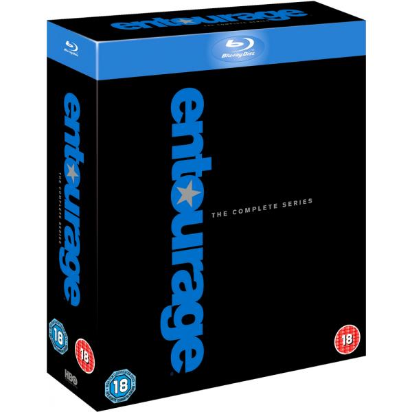 Entourage Seasons 1 to 8 Complete Collection Blu-Ray