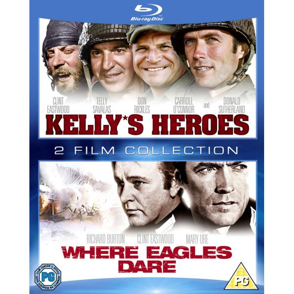 Kellys Heroes / Where Eagles Dare Blu-Ray