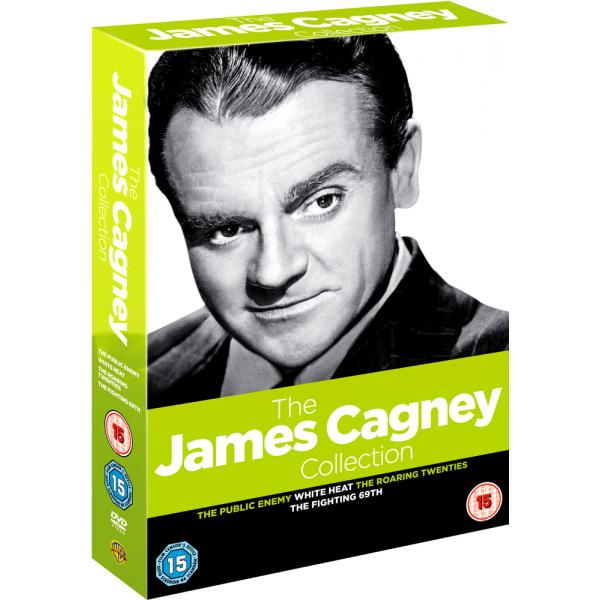 James Cagney - The Public Enemy / White Heat / Roaring Twenties / The Fighting 69th DVD