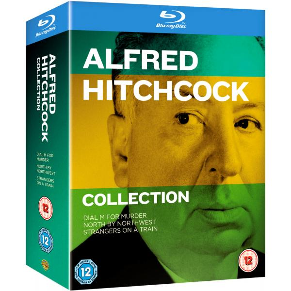 Alfred Hitchcock - North By Northwest / Dial M For Murder / Strangers On A Train Blu-Ray