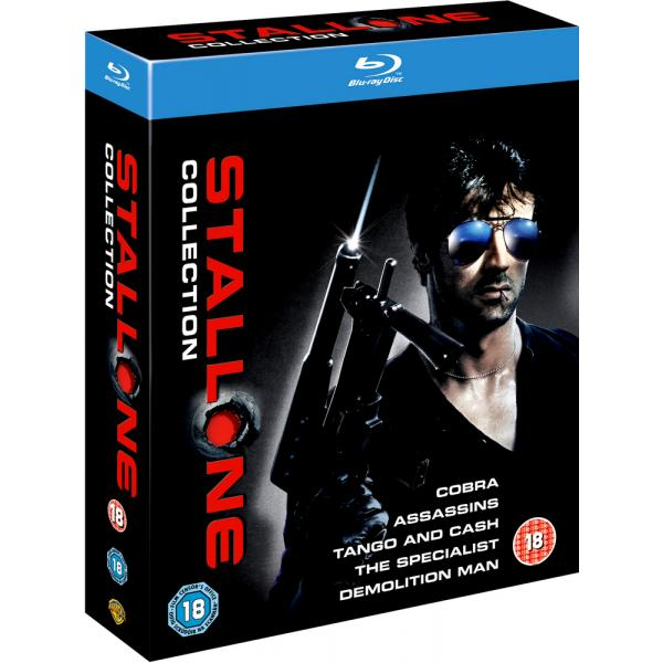 Stallone - Cobra / Assassins / Tango And Cash / The Specialist / Demolition Man Blu-Ray