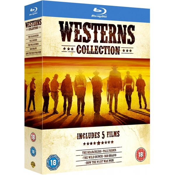 The Searchers / Pale Rider / The Wild Bunch / Rio Bravo / How The West Was Won Blu-Ray