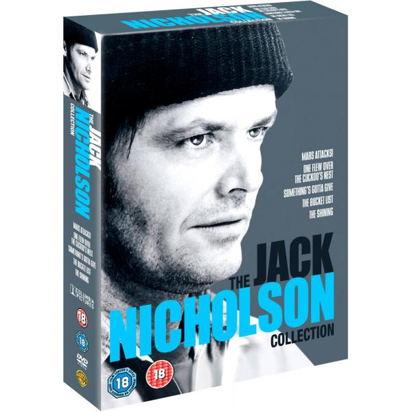 Jack Nicholson - One Flew Over The Cuckoos Nest / Batman / Bucket List / Mars Attacks DVD