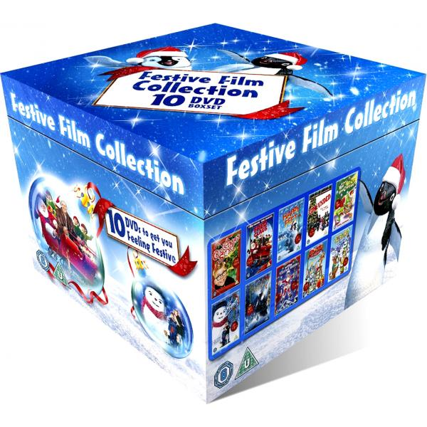 Festive Film Collection 10 DVD Boxset DVD