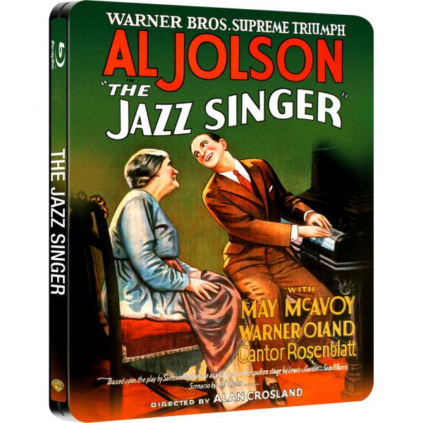 The Jazz Singer Steelbook Blu-Ray