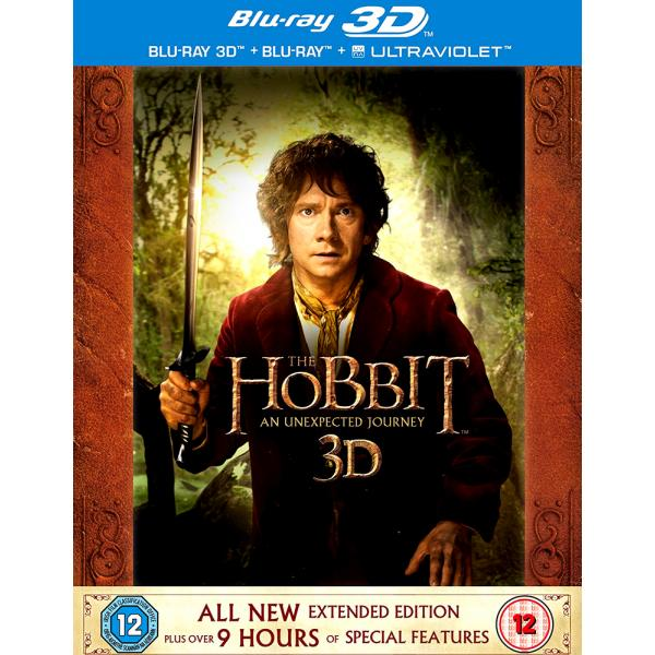The Hobbit - An Unexpected Journey - Extended Edition Blu-Ray