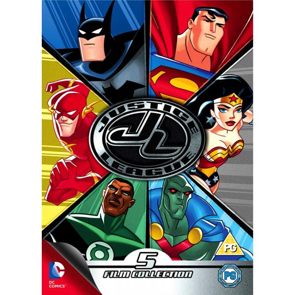 DC Justice League - (5 Film) Collection DVD