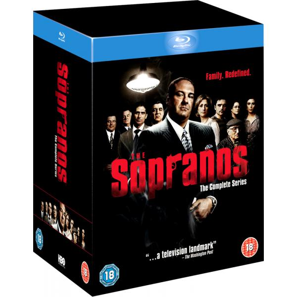 The Sopranos Seasons 1 to 6 Complete Collection Blu-Ray