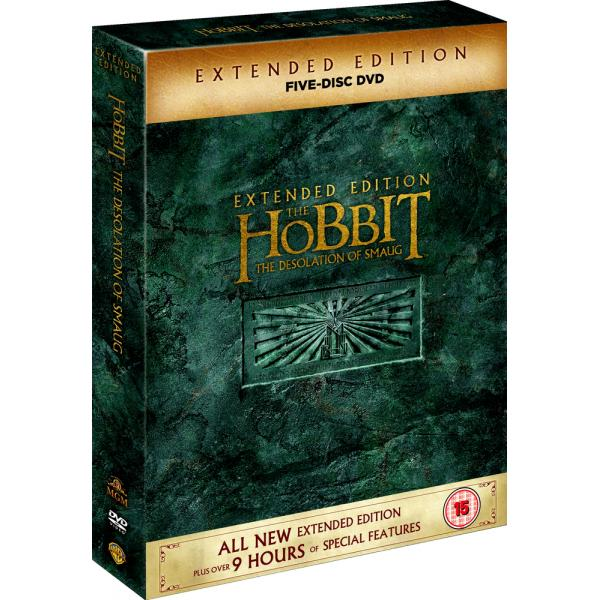 The Hobbit - The Desolation Of Smaug - Extended Edition DVD