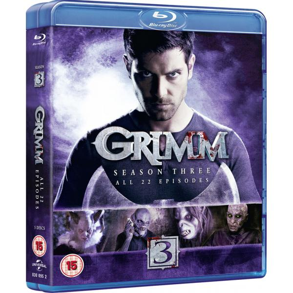 Grimm Season 3 Blu-Ray