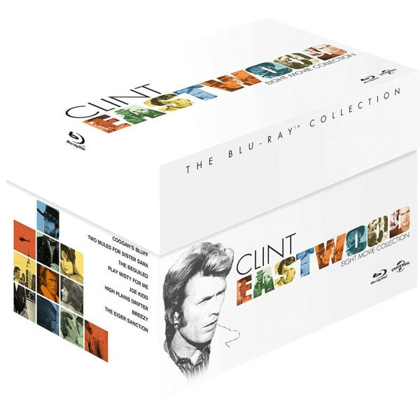 Clint Eastwood Collection (8 Films) Blu-Ray