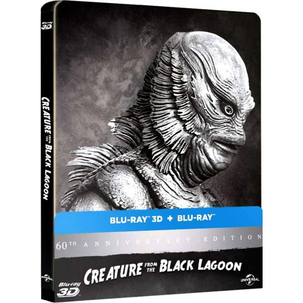 Creature From The Black Lagoon 3D+2D Steelbook Blu-Ray