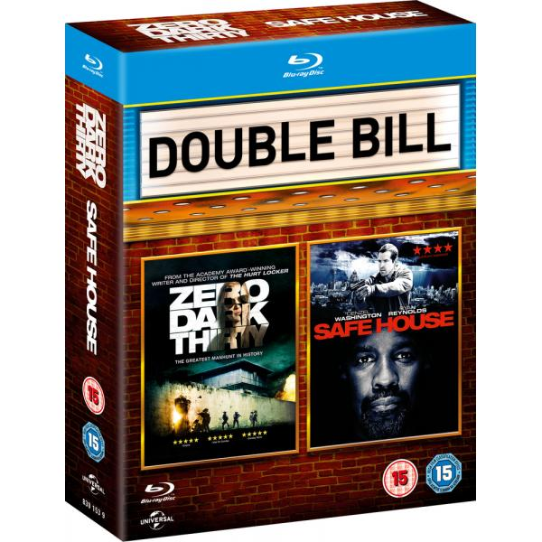 Zero Dark Thirty / Safe House Blu-Ray