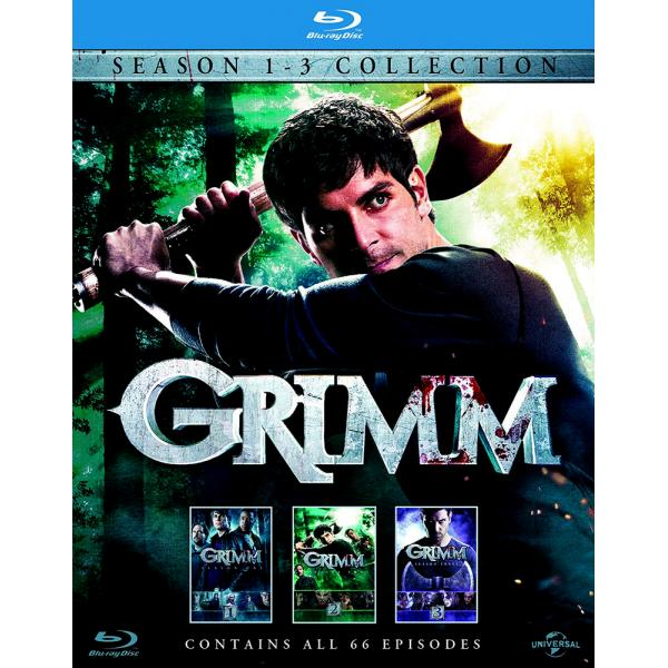 Grimm Seasons 1 to 3 Blu-Ray