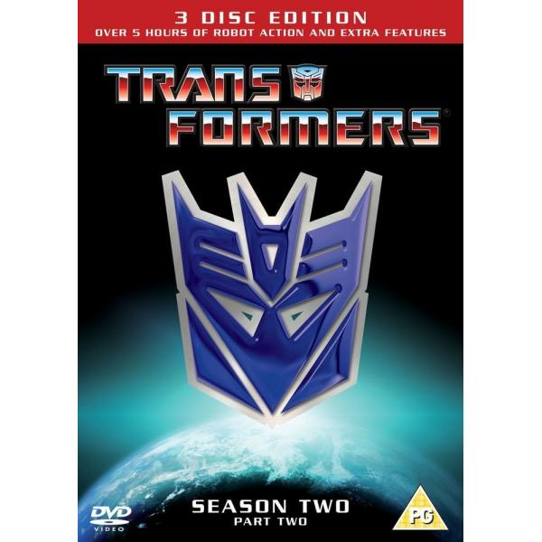 Transformers Season 2 - Part 2 DVD