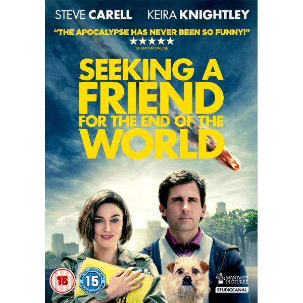 Seeking A Friend For The End Of The World DVD