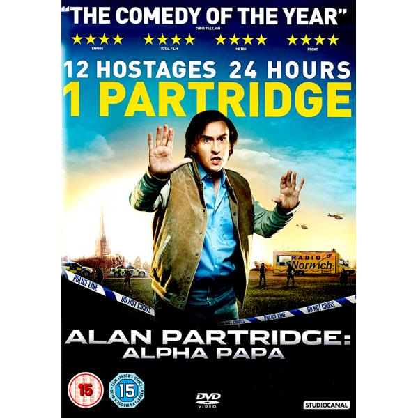 Alan Partridge - Alpha Papa DVD