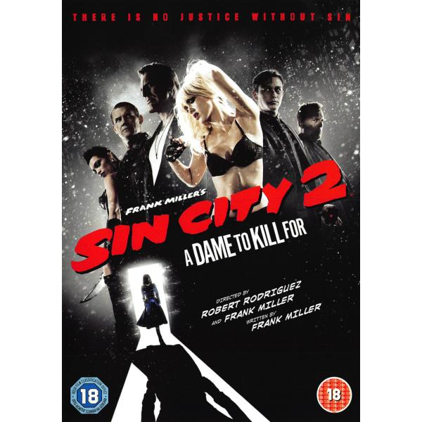 Sin City 2 - A Dame To Kill DVD