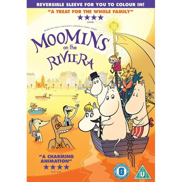 Moomin - Moomins On The Riviera DVD