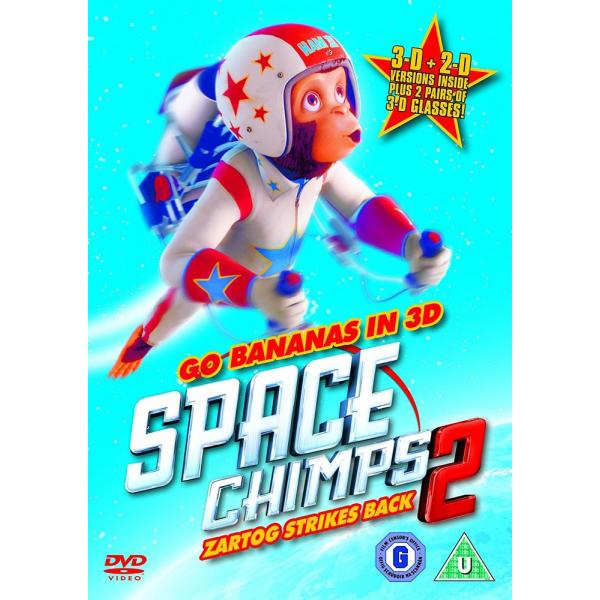 Space Chimps 2 - Zartog Strikes Back 3D DVD