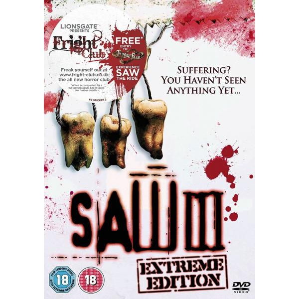 Saw III - Extreme Edition DVD