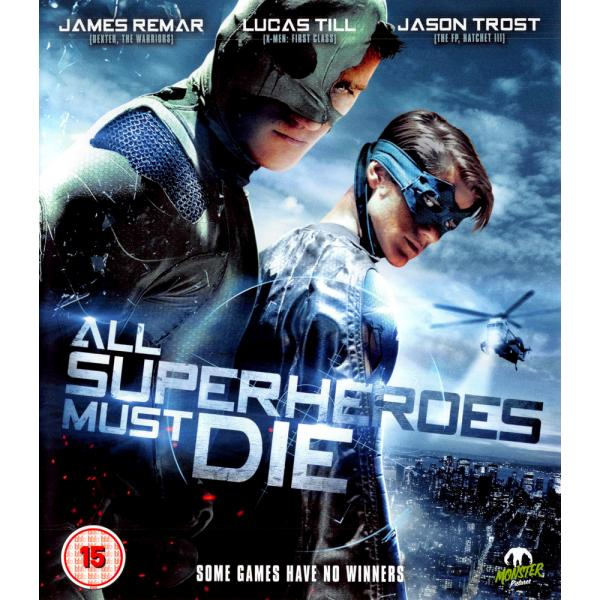 All Superheroes Must Die Blu-Ray