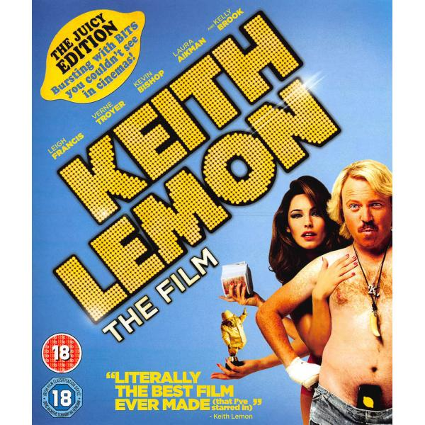 Keith Lemon - The Film - The Juicy Edition Blu-Ray
